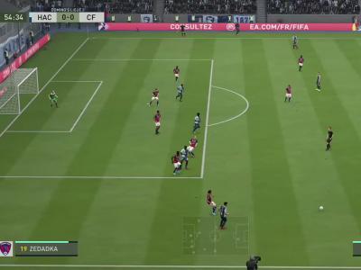 Le Havre FC - Clermont Foot 63 sur FIFA 20 : résumé et buts (L2 - 36e journée)