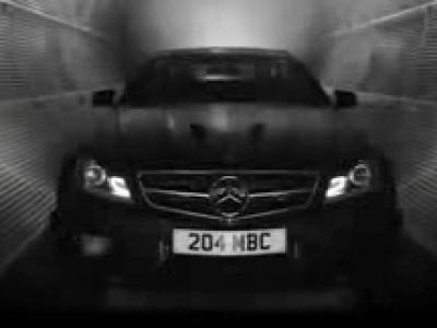 La Mercedes C63 AMG Black Series et son côté obscur