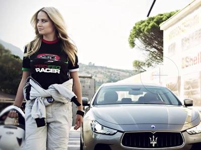 Maserati sublime ses modèles grâce à Geneviève Morton