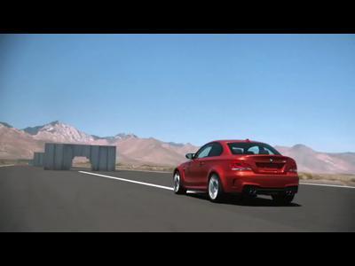 Traverser les murs en BMW Série 1 M