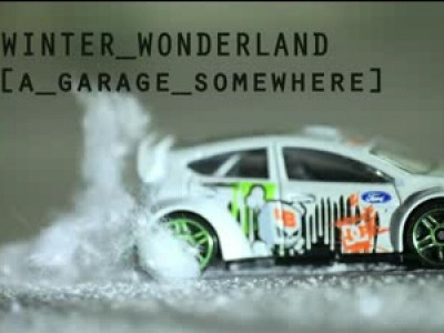 Les performances de Ken Block à l'échelle 1/43