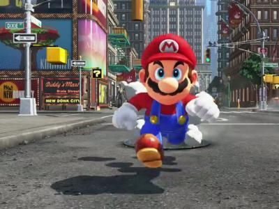 Super Mario Odyssey : le trailer du jeu pour la Nintendo Switch
