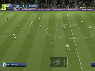 L1 - 3e journée : notre simulation FIFA 20 de ASSE - Strasbourg