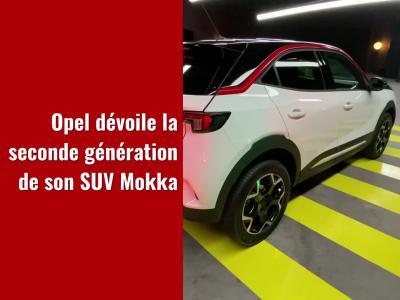 Opel Mokka (2021) : le SUV urbain en vidéo