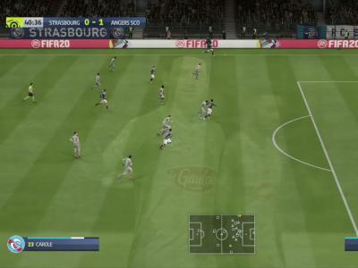 Strasbourg - Angers sur FIFA 20 : résumé et buts (Ligue 1 - 31e journée)
