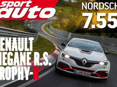 La vidéo de la tentative de record de Sport Auto sur le Nürburgring avec la Renault Mégane RS Trophy-R