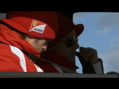 Fernando Alonso et Felipe Massa à Wroom 2011