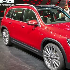 Mercedes-AMG GLB : notre vidéo au Salon de Francfort 2019