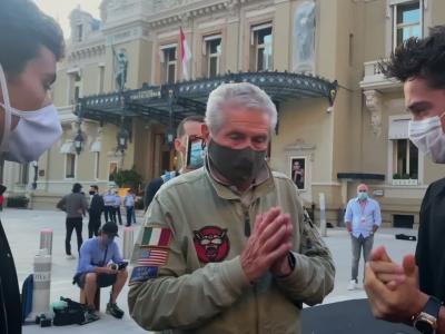 Charles Leclerc à l'affiche du court-métrage de Claude Lelouch « Le Grand Rendez-Vous »