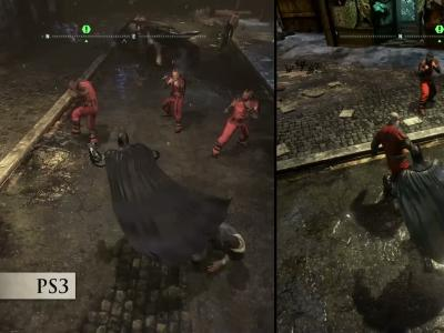 Batman : Return to Arkham : comparaison des versions PS3 et PS4