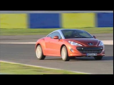 Le coupé Peugeot RCZ à l'épreuve de la piste