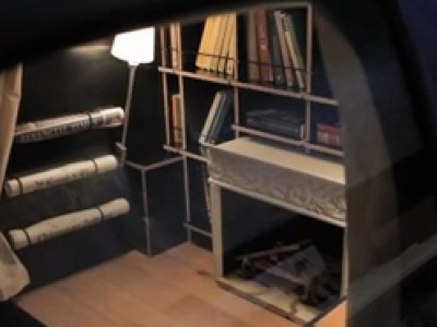 Renault Twingo 2 devient bibliothèque