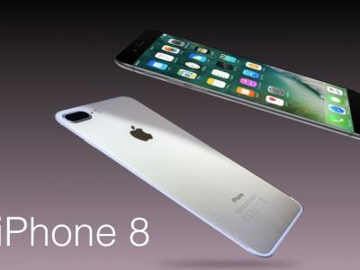 iPhone 8 : concept du smartphone avec TouchBar par Apple Designer