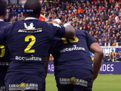 ASM Clermont - Bath : le résumé du match