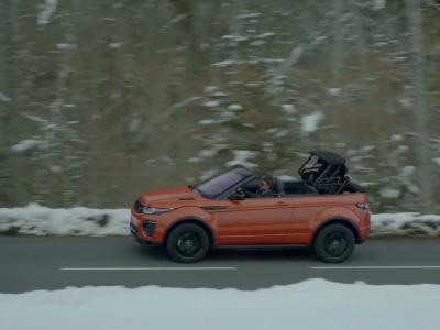 Essai Land Rover Evoque Cabriolet