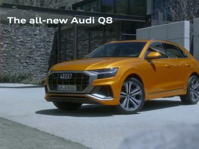 Audi Q8: le SUV coupé se montre en vidéo