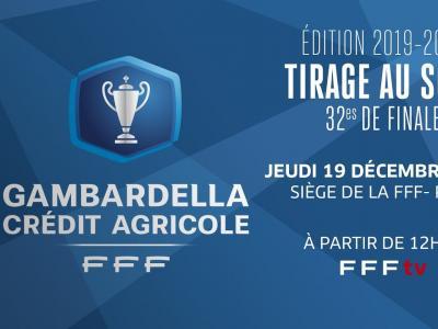 Le tirage des 32es de finale en direct (12h) I Coupe Gambardella-Crédit Agricole 2019-2020