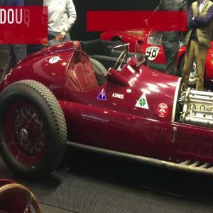 Rétromobile 2018 : Alfa Romeo 12C-316 (1936)