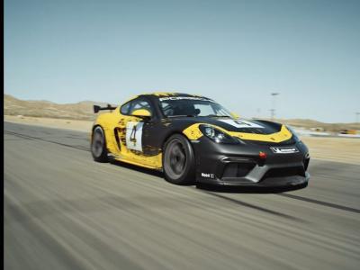 Porsche 718 Cayman GT4 Clubsport : vidéo officielle de présentation