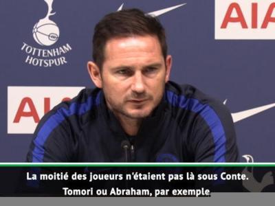 18e j. - Lampard reprend Mourinho de volée : ''Moi, je ne clone le système de personne''