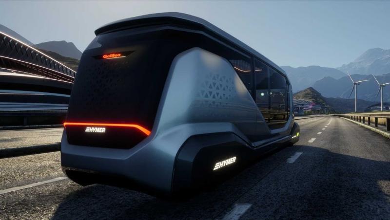 Hymer Galileo : le camping-car de 2030