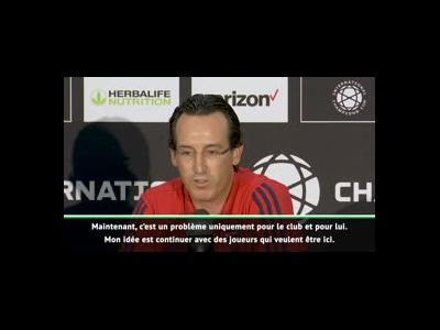 """Arsenal - Emery : """"Désormais, c'est entre Laurent Koscielny et le club"""""""