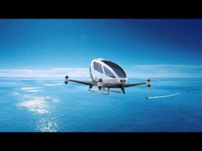 Drone Taxi Ehang 184