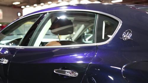 Mondial de l'Auto 2018 : la Maserati Quattroporte en vidéo