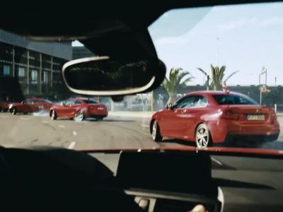 Drift synchronisé en avec 5 BMW M235i !