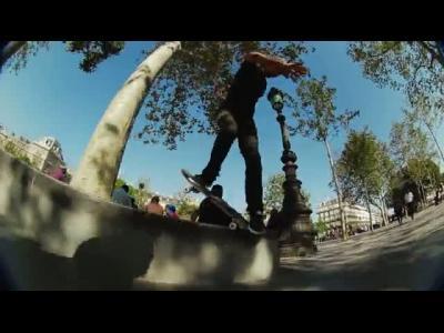 Petit ride parisien en skate