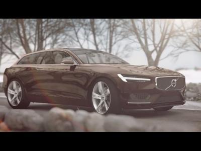 Nouvelle vidéo du concept Volvo Estate de Genève
