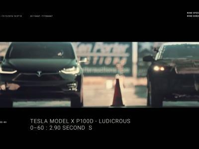 Faraday Future fait mordre la poussière au Tesla Model X