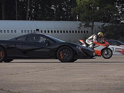 McLaren vs Porsche vs Ducati : qui sera le plus rapide ?
