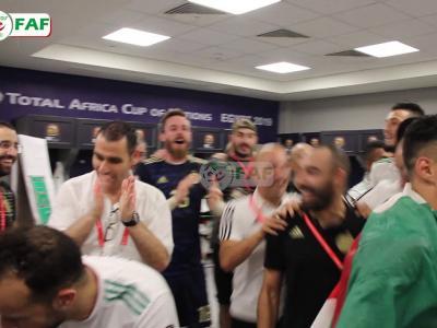Algérie : dans les coulisses de la victoire face au Nigeria