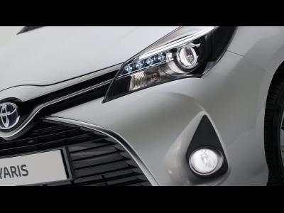 La Toyota Yaris restylée en vidéo