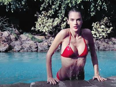 Spring Break with Alessandra Ambrosio - LOVE