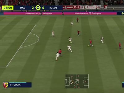 L1 - 7ème journée : notre simulation FIFA 21 de LOSC - RC Lens