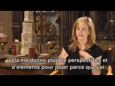 Interview Emma Watson- Harry Potter et l'Ordre du Phenix