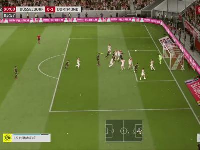 Fortuna Düsseldorf - Borussia M'Gladbach sur FIFA 20 : résumé et buts (Bundesliga - 31e journée)