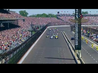 Ryan Hunter-Reay remporte les 500 Miles d'Indianapolis in extremis