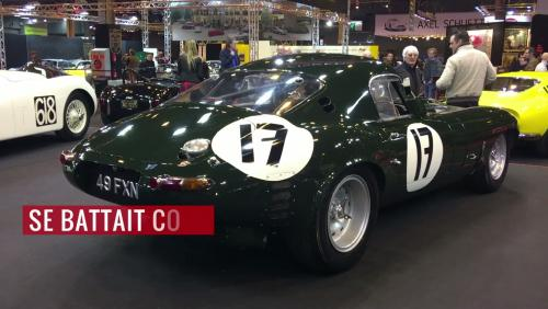 Rétromobile 2018 : Jaguar Type-E Lightweight (1963)