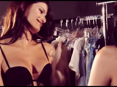 Kendall Jenner, Isabeli Fontana & Liu Wen - La Perla S/S 2017 campaign