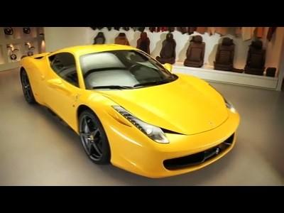 Programme de personnalisation pour la Ferrari 458 Italia
