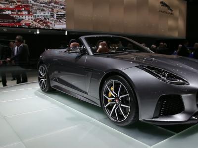 Genève 2016 : Jaguar F-Type SVR
