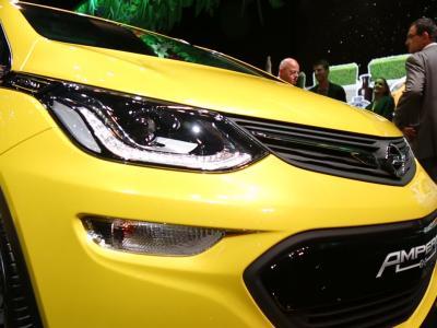 Mondial 2016 : Opel Ampera-e