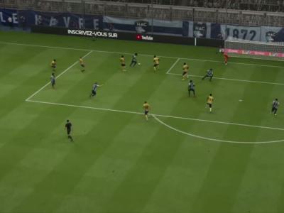 Le Havre FC - FC Sochaux sur FIFA 20 : résumé et buts (L2 - 32e journée)