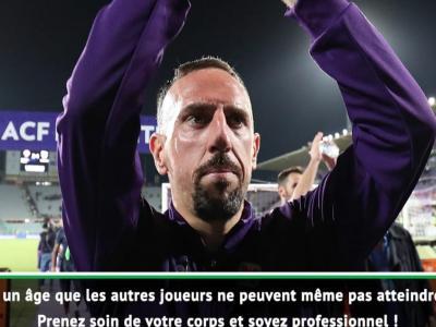 Italie : Mancini adoube Franck Ribéry