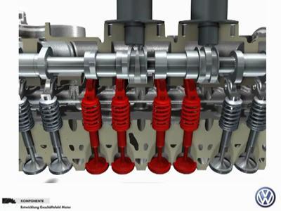 Volkswagen réinvente le 4 cylindres