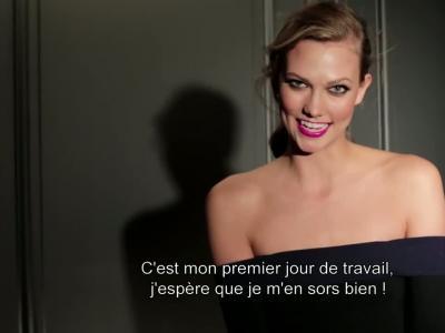 Vidéos : Karlie Kloss pour L'Oréal