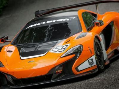 La McLaren 650S GT3 révélée à Goodwood